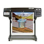 HP Designjet 1050c 36 inch plotterpapier