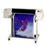 HP Designjet 2800cp 36 inch poster papier