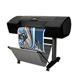 HP Designjet Z2100 24 inch plotterpapier
