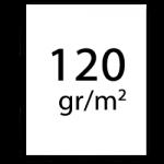 120 gramm papier