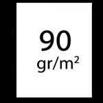 90 gramm papier