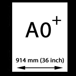 A0 papier übergröße (914mm, 36 inch)