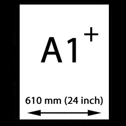 A1 papier übergröße (610mm, 24 inch)